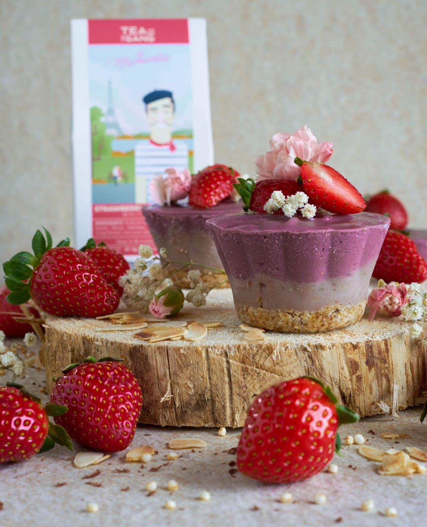 Erdbeer-Champagner Törtchen